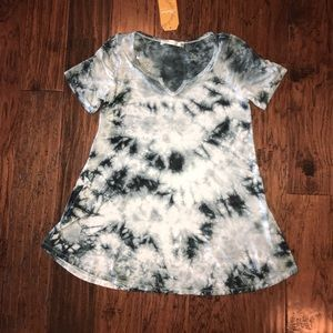 NWT Andree tie dyed flowy top